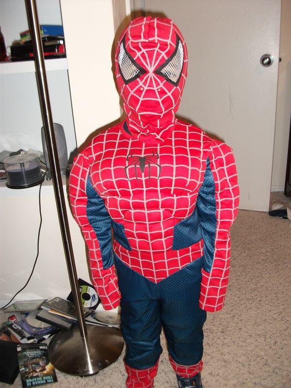 Josh as Spiderman