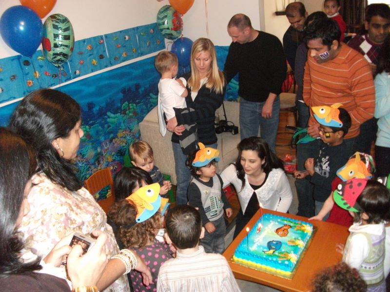 Calum's 2nd Birthday Party