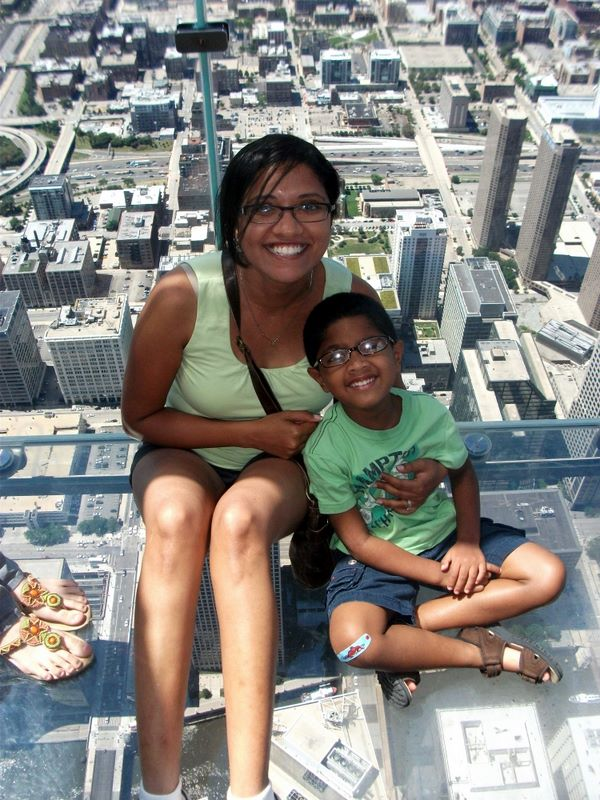 Nums & Josh @ the Skydeck