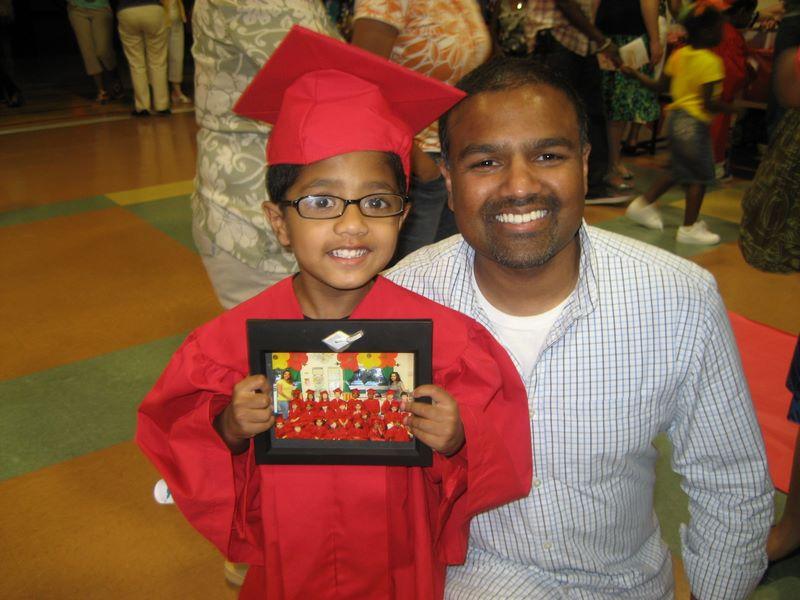 Joshua's graduation