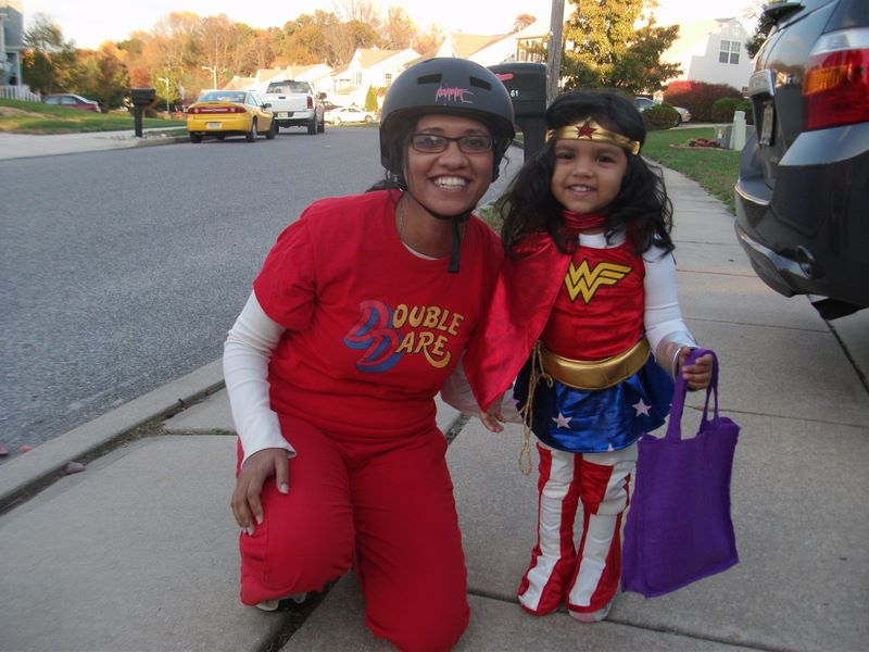 Nums & Wonder Woman