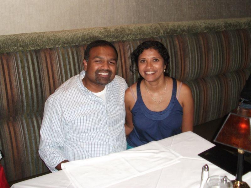 7th Wedding anniversary dinner