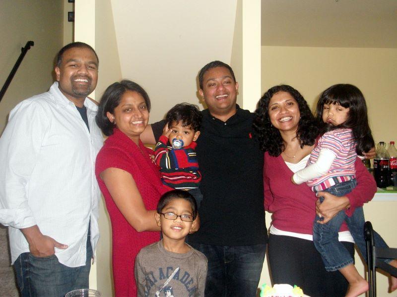 Ranjith & Priya came to visit