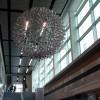 Hoberman Sphere in the LSC Atrium