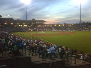 Lakewood BlueClaws game at First Energy Park