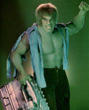 """I'm """"Hulking out"""" over here."""
