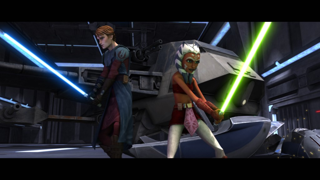Star Wars: The Clone Wars animated series (2008)