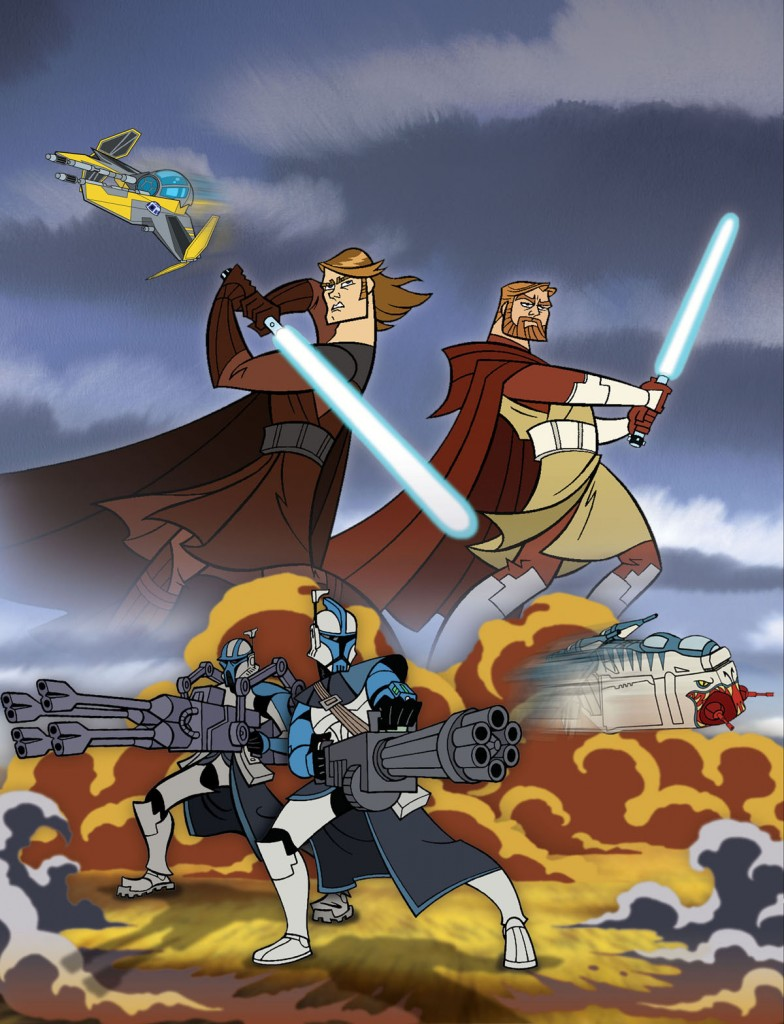 The original Star Wars: Clone Wars (2003)
