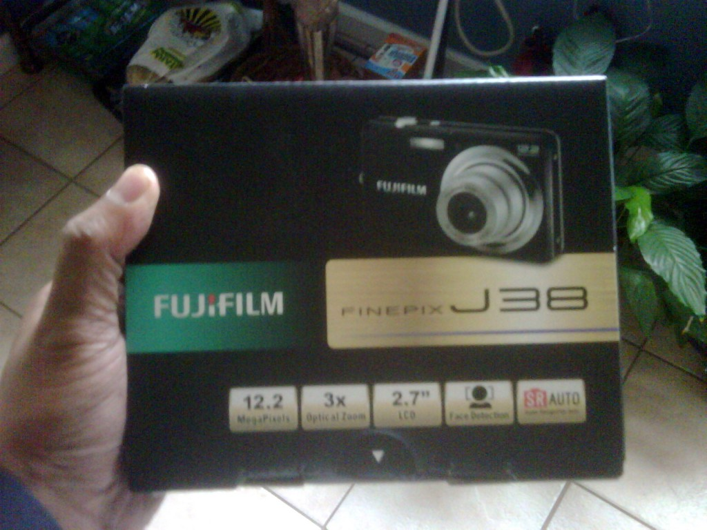 Our new Fuji arrived