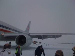 AA 757 skids off runway on 12/29/2010