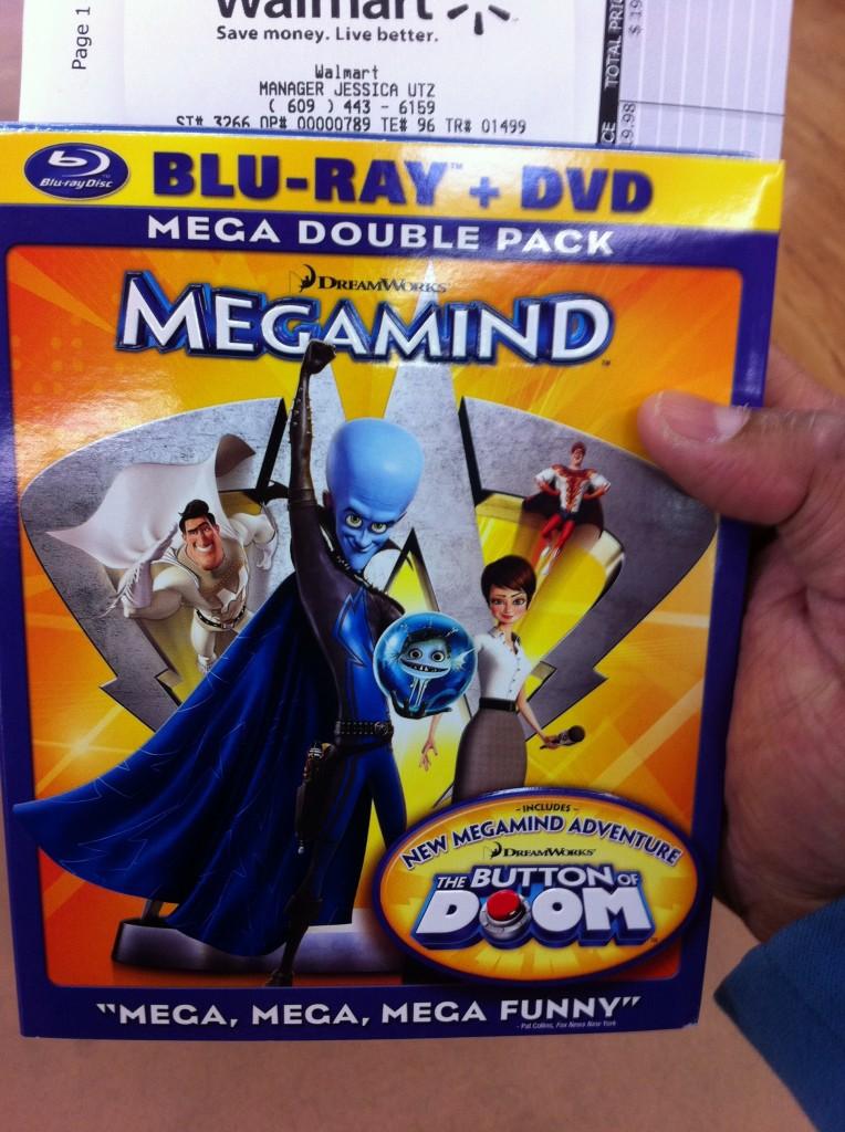 Megamind Blu-ray & DVD combo