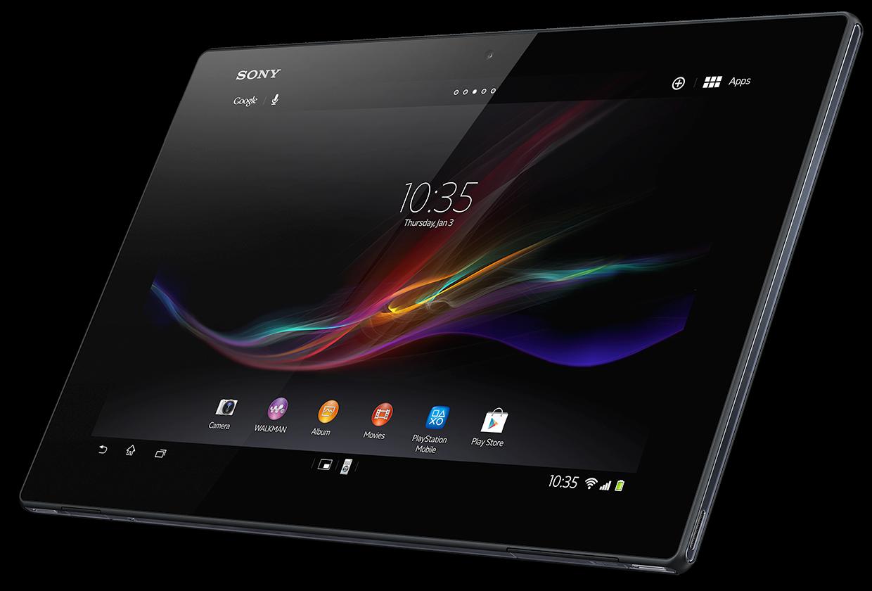 The Sony Xperia Tablet Z