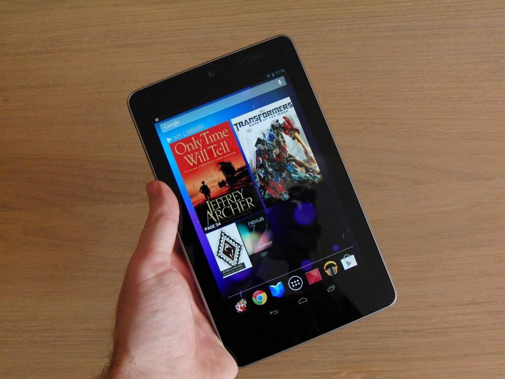 The updated Google Nexus 7