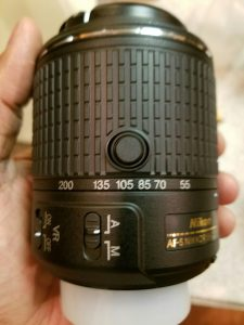 Nikon AFS-DX Nikkor 55-200mm  ED VR II