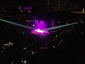 View from the nosebleed section
